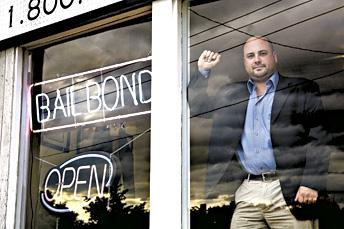Andrew Marocchini, president of Manchester-based BailCo Bail Bonds, is pushing reform legislation of the bail bond industry.